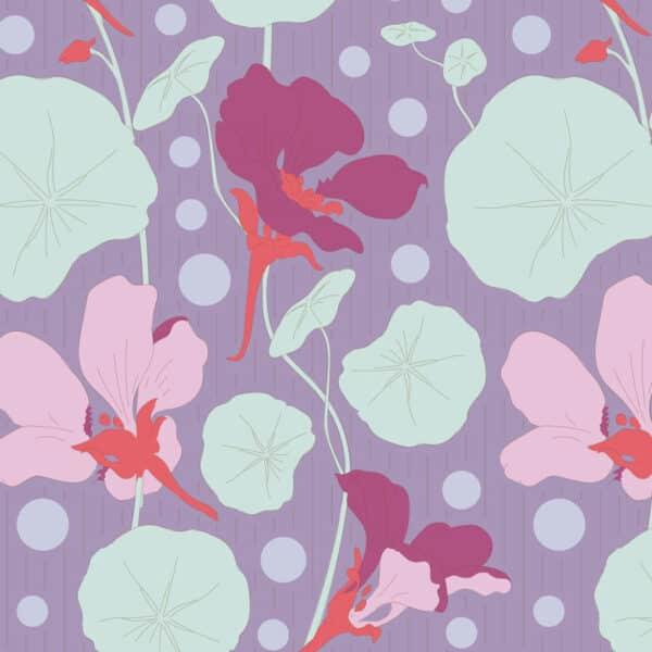 Nasturtium Lavender