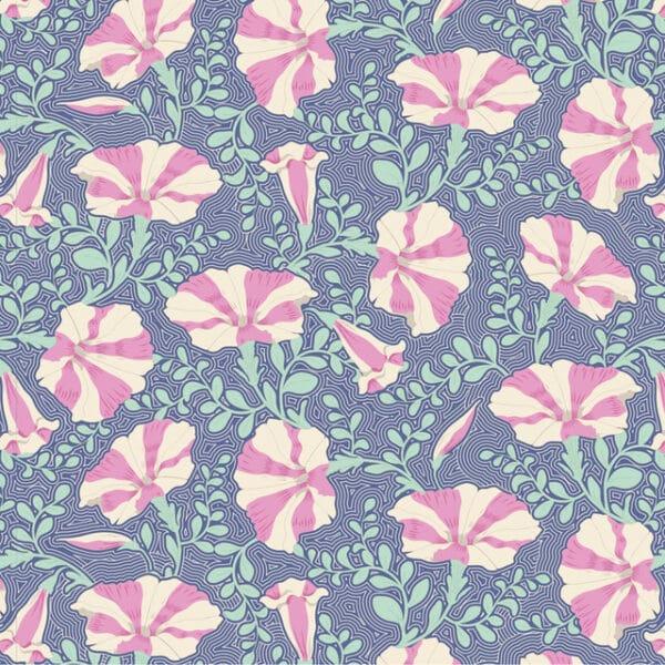 Striped Petunia Blue