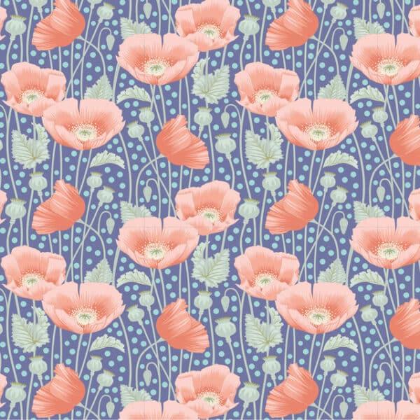 Poppies Blue