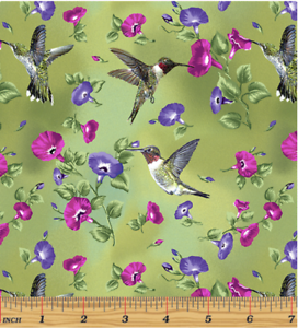 Hummingbird Song Green